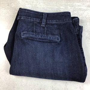Lane Bryant 22 Denim Bermuda Shorts Dark Wash 0091